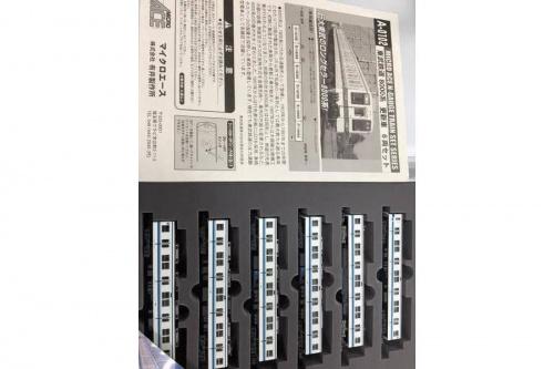東武鉄道8000系のNゲージ