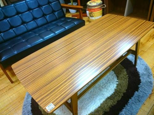 テーブルのkarimoku
