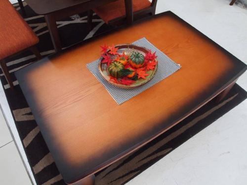 コタツダイニングテーブルのコタツテーブル