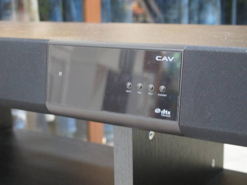 スピーカー付テレビ台のキッチンカウンター