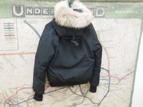レザーのコート