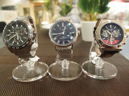 腕時計のビジネスバッグ