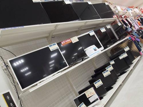 デジタル家電の大型テレビ