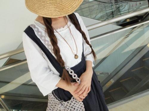 レディースファッションのリネン