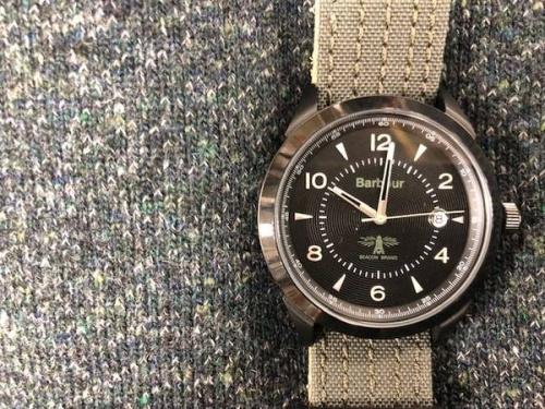腕時計のBarbour