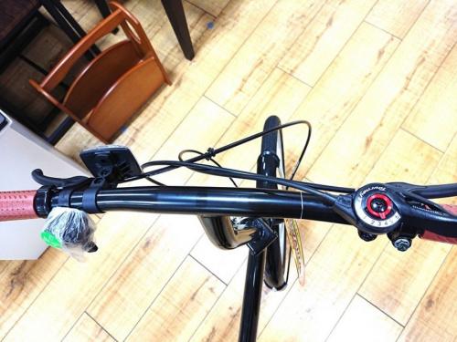 折りたたみ自転車の6段変速
