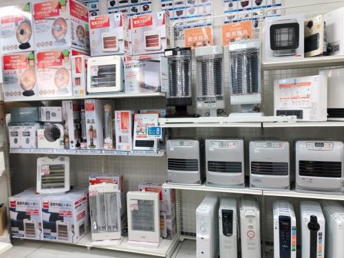 暖房器具の暖房