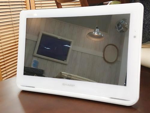 液晶テレビのポータブル液晶テレビ
