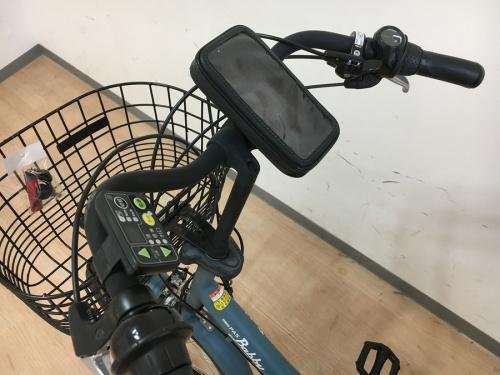 電動アシストの電動自転車