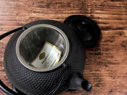 茶器の鉄瓶