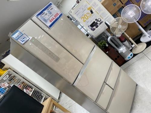 2ドア冷蔵庫の大型冷蔵庫