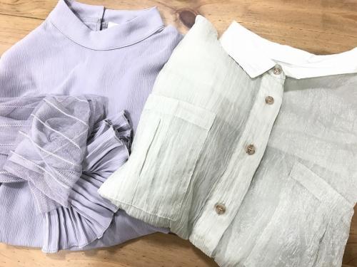 シャツの春物