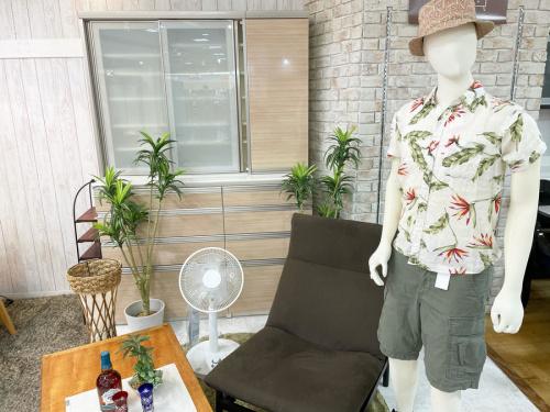 夏休み の扇風機 エアコン 家具