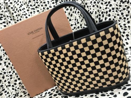 ダミエ・ソバージュのハンドバッグ