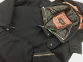 BURBERRY BLACK LABELのTHE NORTH FACE
