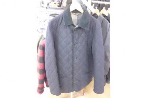 バブアーのキルティングジャケット