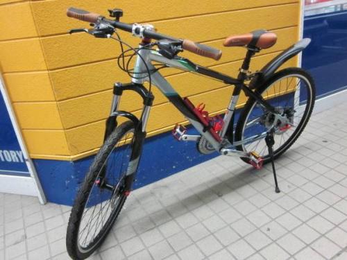 自転車のMTB