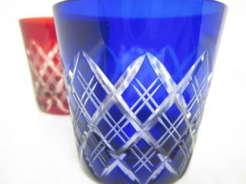 江戸切子のグラス