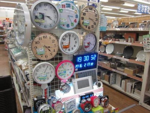 置き時計の掛時計