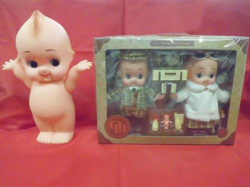 フィギュアのキューピー人形