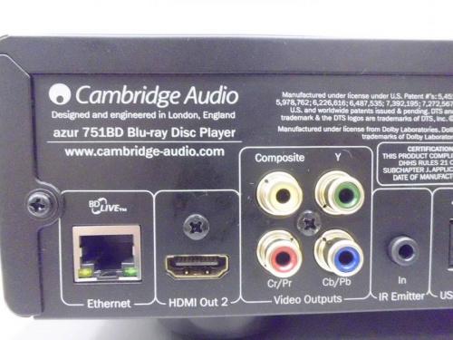 Blu-rayプレーヤーのCambridge Audio