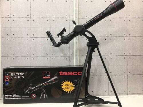 アウトドアの望遠鏡