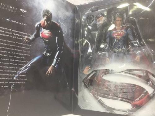 フィギュアのスーパーマン