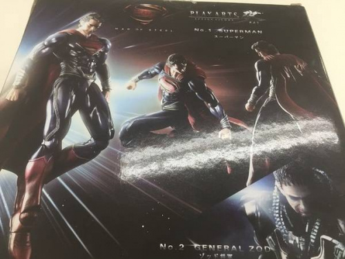 スーパーマンのPLAY ARTS