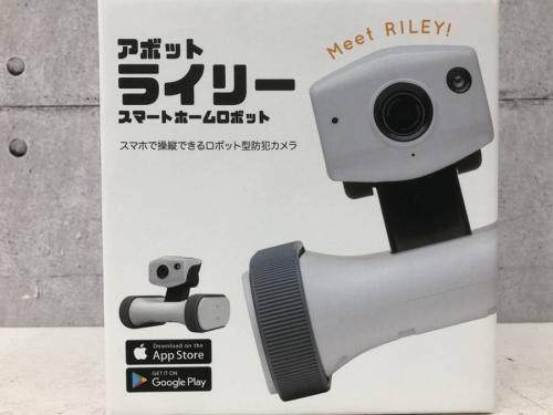 防犯カメラのロボット