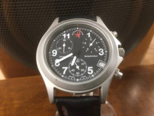 腕時計のKALASHNIKOV