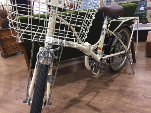 自転車の折りたたみ自転車