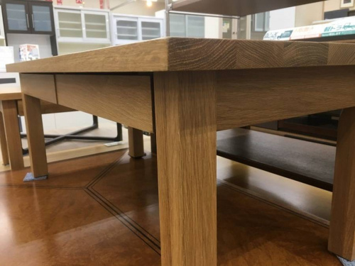 センターテーブルの無印良品