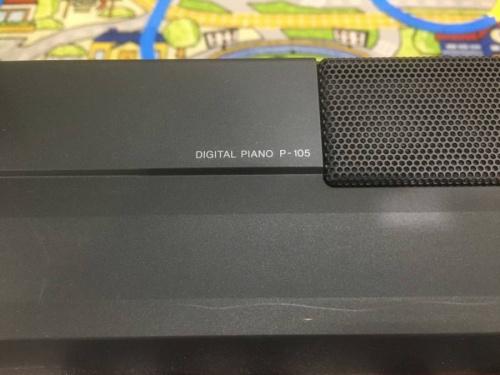 キーボードの電子ピアノ
