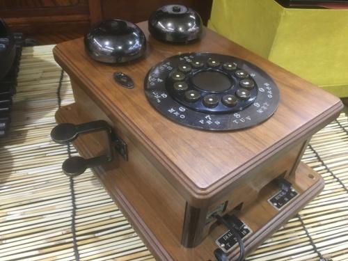 レトロ雑貨の電話機