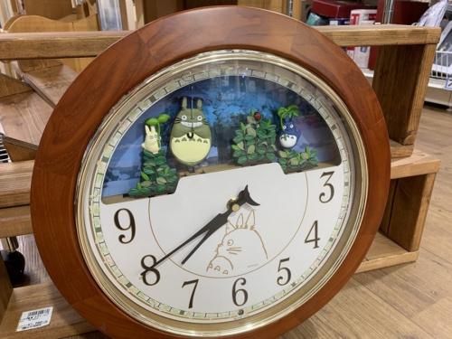 からくり掛時計のジブリ