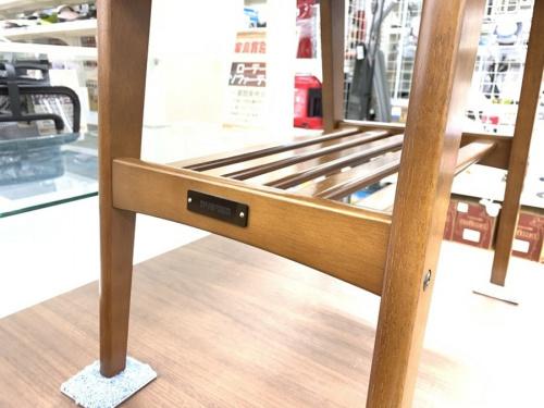ハンガーラックのサイドテーブル