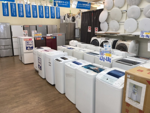 家電の冷蔵庫 洗濯機