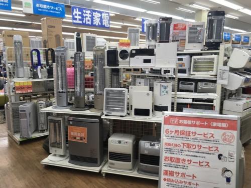 暖房の越谷  レイクタウン 草加 春日部 西新井 家電