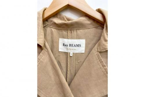 ロングトレンチコートのRay BEAMS