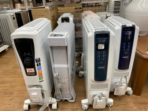 冬物家電の暖房器具