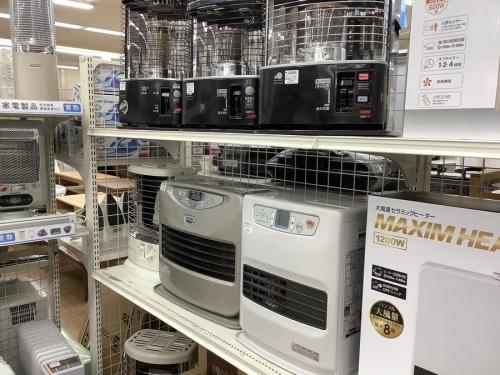 加湿空気清浄機の暖房