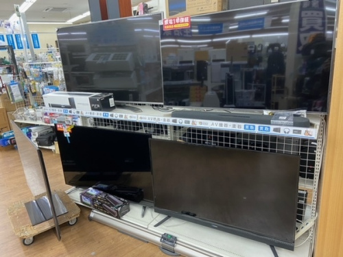 テレビの家電買取