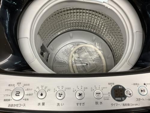 洗濯機の未使用品