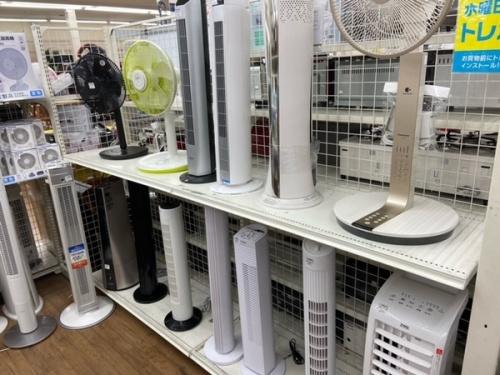 扇風機 リビング扇風機 卓上扇風機のタワーファン サーキュレーター