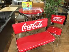 CocaCola(コカコーラ)ロゴデザインの家具まとめて入荷しました!【南大沢店】
