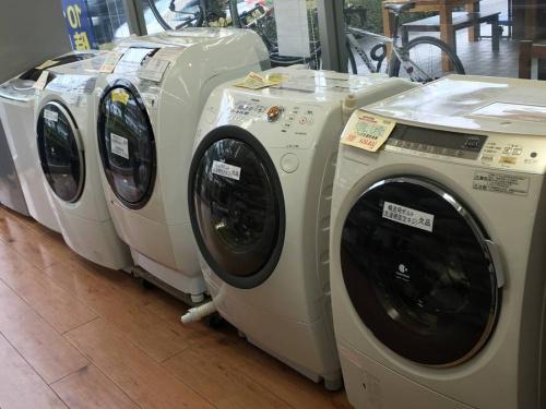 ドラム式洗濯機の家電