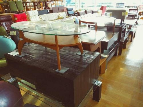 センターテーブルのキツツキ