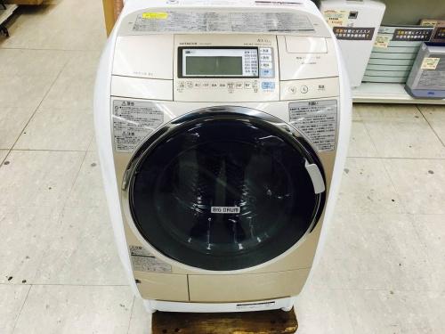 ドラム式洗濯機のヒタチ