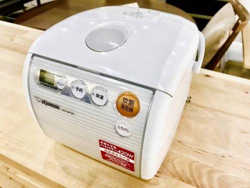 調理家電の炊飯ジャー