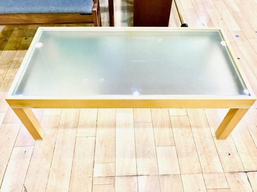 大塚家具のリビングテーブル
